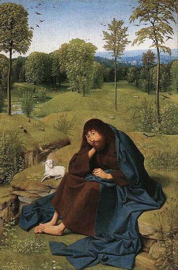 John the Baptist gecomprimeerd Geertgen tot Sint Jans wikimedia