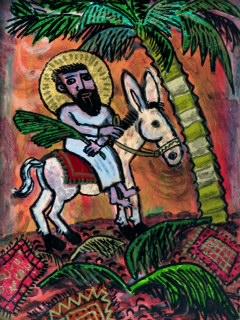 Palm Sunday 12x9 21 bd 09 SOLD