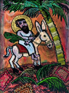 Palm Sunday 12x9 21 bd 09 SOLD