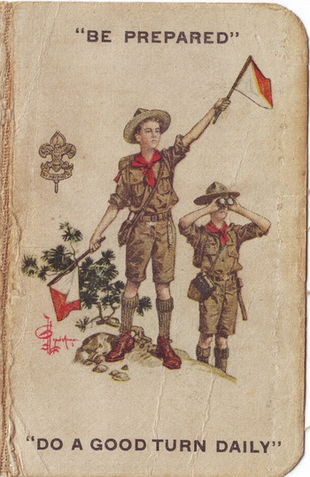 Vintage Boy scout cropped