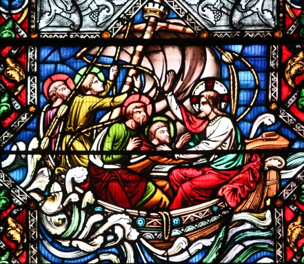 Christ calms the storm Fr lawrence Lew, O.P.