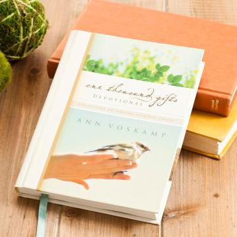 One Thousand Gifts Devotional by Ann Voskamp