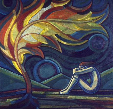 Burning Bush by Micahel Cook