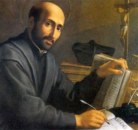Ignatius Loyola (1491-1556). Spanish founder of Jesuit Order. Counter-Reformation. #1ab.
