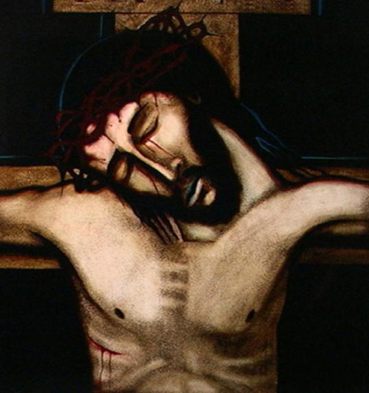 Crucifixion 2 Michael O Brien