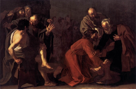 Christ washing the Disciples Feet