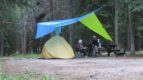 Camping Mosquito creek w Fred 2015