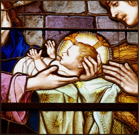 The Nativity 1890 1910 by Franz Mayer&Co (detail) by Plum Leaves