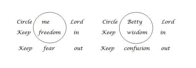 double circle prayer