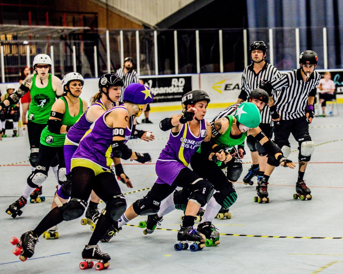 Sin, Hell and Roller Derby